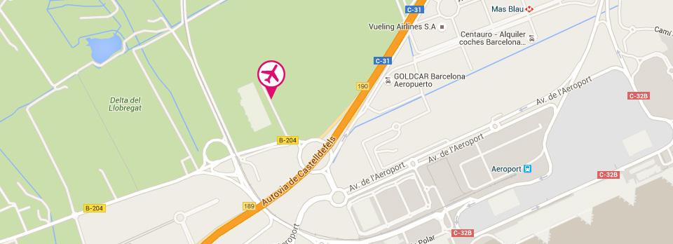 Barcelona Airport Car Park aparcago El Prat
